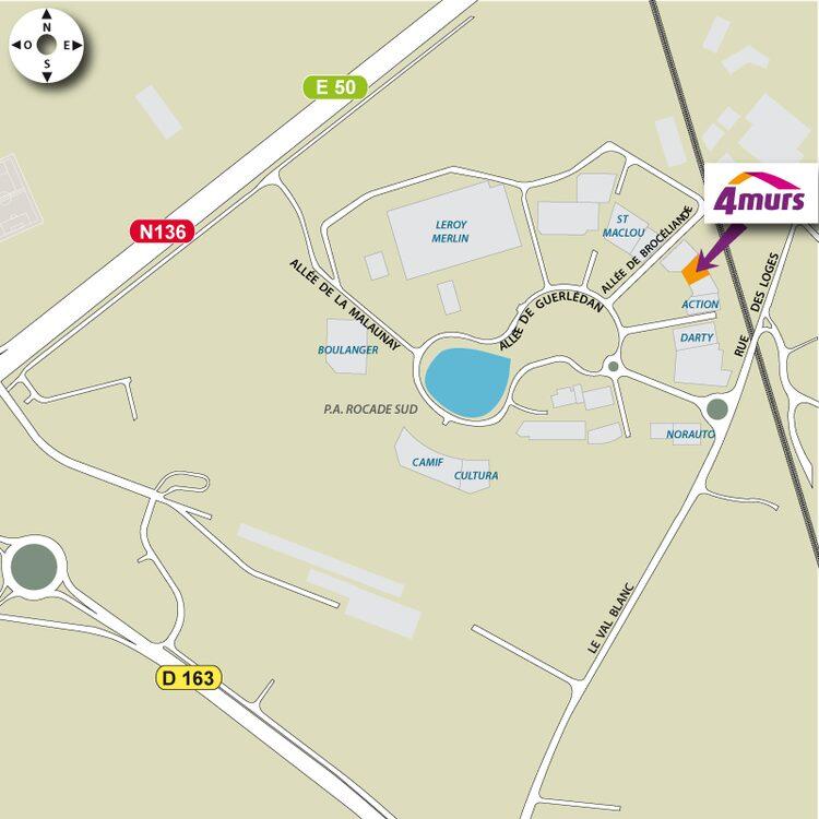 4murs Rennes Chantepie Magasins