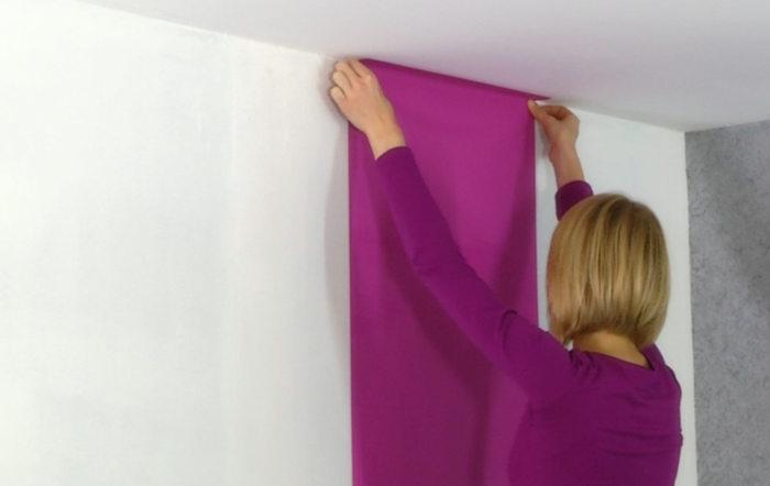 Pose De Papier Peint Intisse Le Guide Pratique 4murs