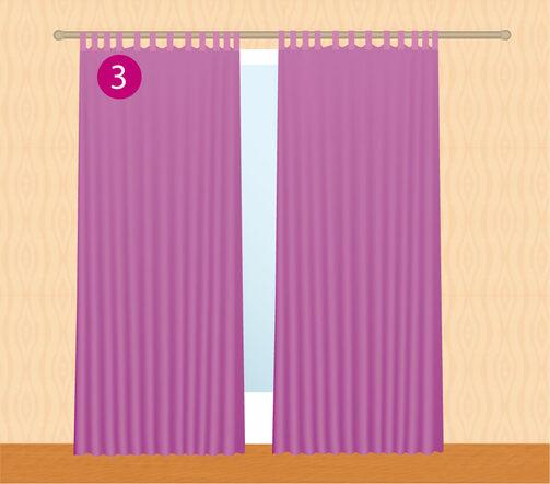 pose de rideaux 4murs. Black Bedroom Furniture Sets. Home Design Ideas