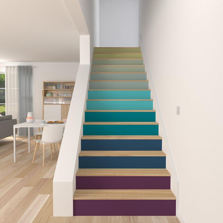 d corer un escalier autrement 4murs. Black Bedroom Furniture Sets. Home Design Ideas