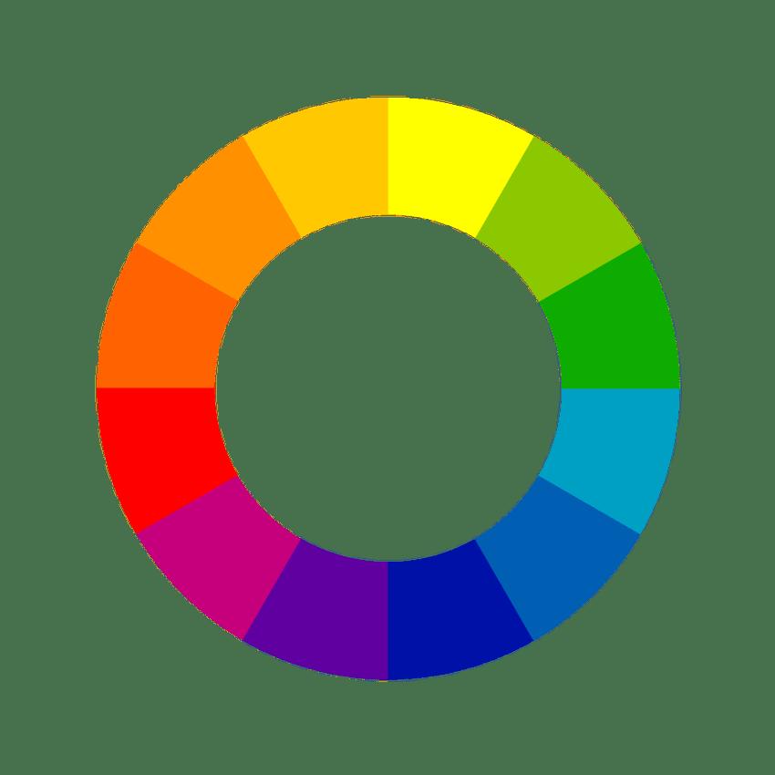 Dossier Couleurs Le Cercle Chromatique 4murs