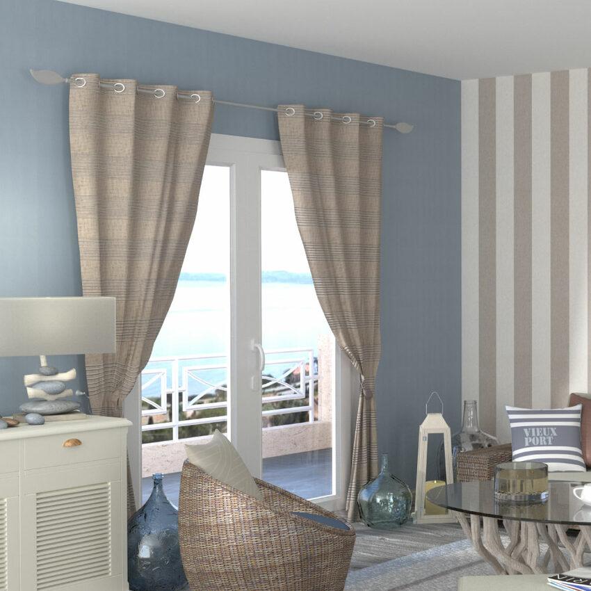 assortir les rideaux son style d co 4murs. Black Bedroom Furniture Sets. Home Design Ideas