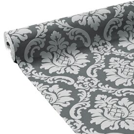 papier peint vinyle bonnie coloris gris souris gris perle papier peint 4murs. Black Bedroom Furniture Sets. Home Design Ideas