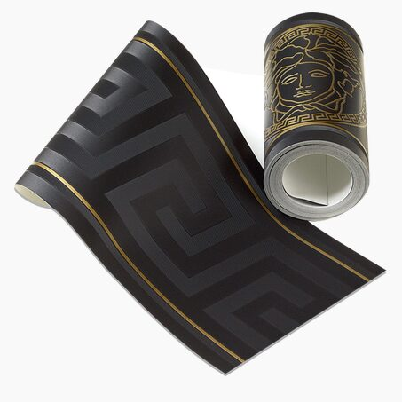Vinyl frieze VERSACE GRECO colour black