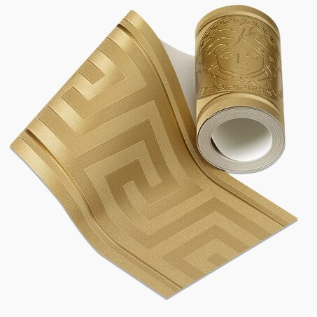 Vinyl frieze VERSACE GRECO colour gold