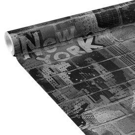 papier peint new york tag coloris noir gris alu papier peint 4murs