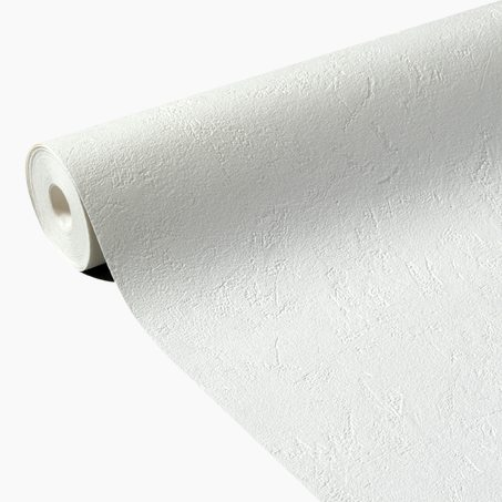 Non-woven wallpaper MONTERO colour white