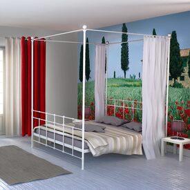papier peint vinyle brignoles coloris blanc blanc papier peint 4murs. Black Bedroom Furniture Sets. Home Design Ideas