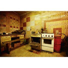 D cor mural num rique xxl kitchen old style 400 x 270 cm for Decor mural xxl 4 murs