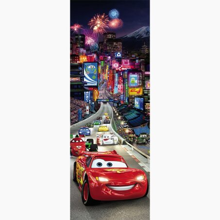 Extra-large poster CARS TOKYO 73 x 202 cm