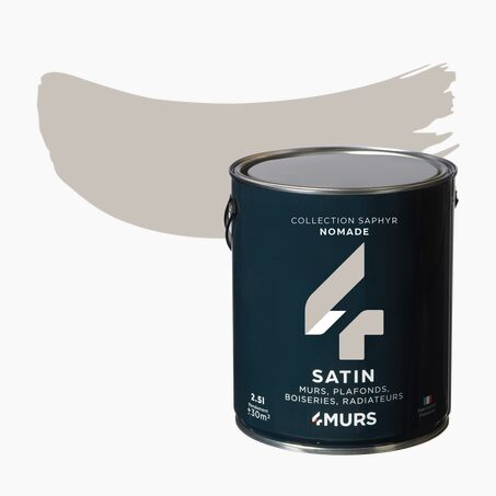 Multi-surface Paint SAPHYR Alkyd nomad Satin 2,5 L