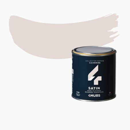 Finishing Paint SAPHYR Alkyd cashmere Satin 0,5 L