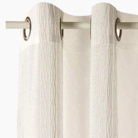 gardine canyon farbe senfgelb 140 x 280 cm senfgelb vorhang 4murs. Black Bedroom Furniture Sets. Home Design Ideas