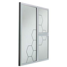 Intiss nouka coloris blanc papier peint 4murs for Miroir 4 murs