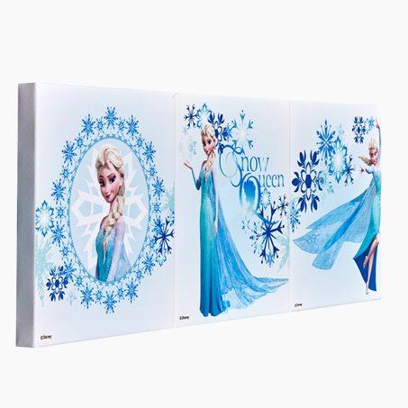 Frise vinyle princess coloris bleu pastel rose princesse - Frise reine des neiges ...