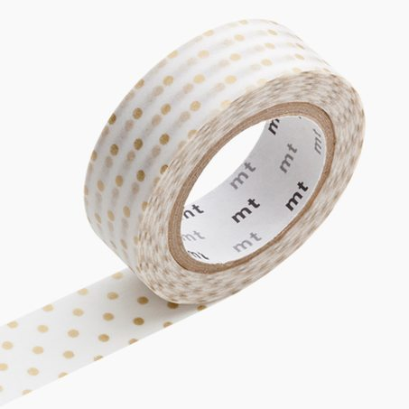 Masking tape POIS XS coloris or