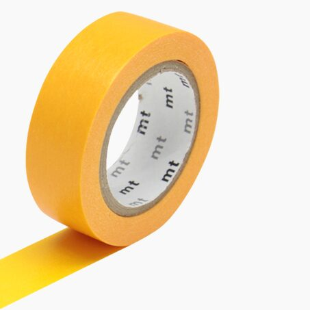 Masking tape UNI coloris jaune orange