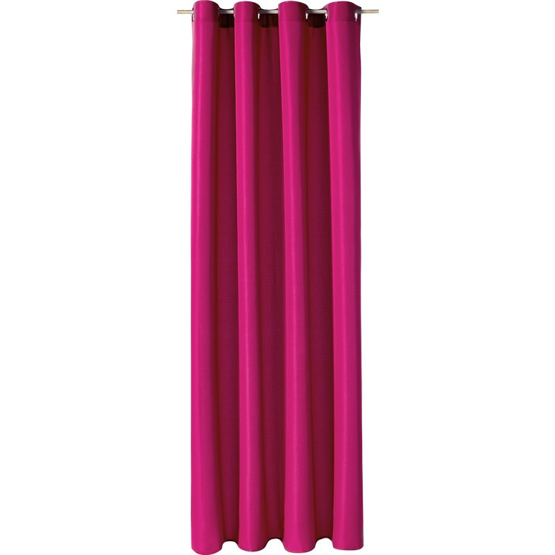 Rideau ESSENTIAL coloris rose fuschia 140 x 240 cm