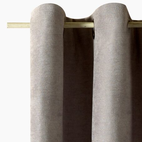 Thermal curtain ALASKA colour taupe 140 x 260 cm
