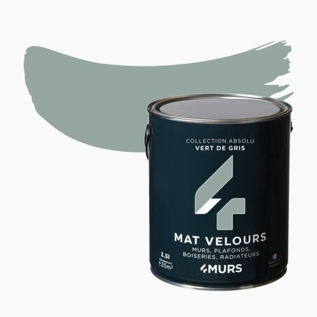 Multi-surface Paint ABSOLU Acrylic grey-green Matte 2,5 L