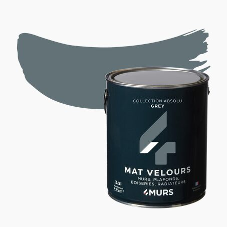 Peinture Multi-supports ABSOLU Acrylique grey Mat 2,5 L