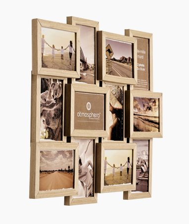 Photo montage frame WOODY 59.5 x 45.5 cm