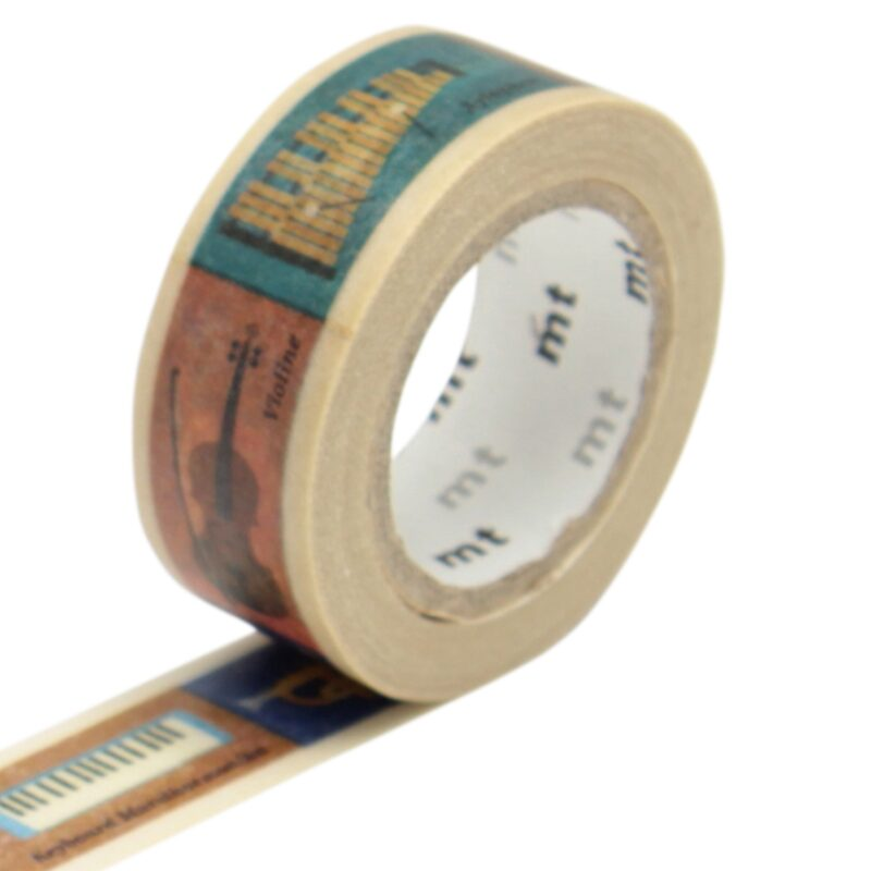 Masking tape INSTRUMENT coloris multicolore
