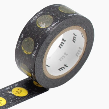 Masking tape MOON coloris jaune