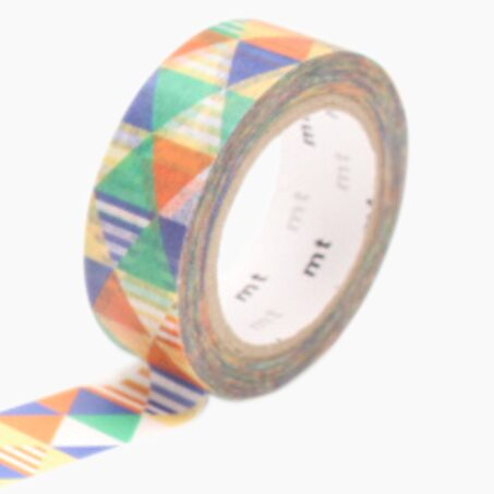 Masking tape SHIMASANKAKU BLUE colour multicoloured