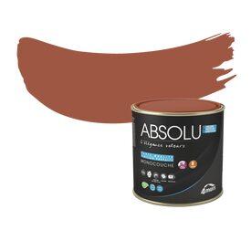 Peinture finition absolu acrylique rouille mat 0 5 l for Peinture couleur rouille