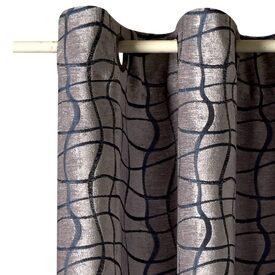 Rideau VANCOUVER coloris gris 135 x 260 cm - Rideau - 4murs