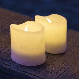bougies led objets d co welldeco. Black Bedroom Furniture Sets. Home Design Ideas