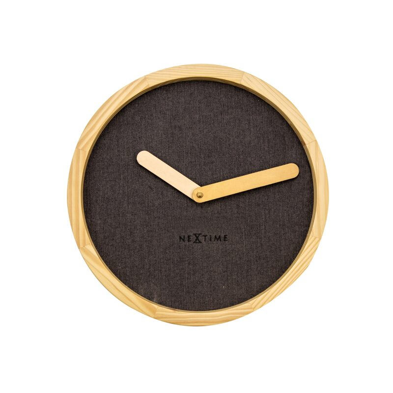 Horloge CALM coloris brun