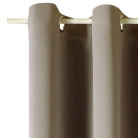 rideau anti feu coloris beige 140 x 300 cm rideau 4murs. Black Bedroom Furniture Sets. Home Design Ideas