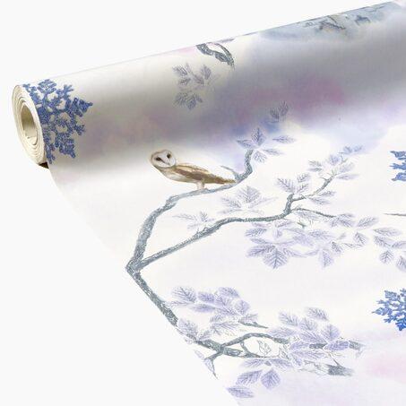 Intisse Licorne Coloris Bleu Nuit Multicolore Papier Peint 4murs