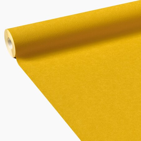 Non-woven wallpaper NEW INFINITY colour curry yellow