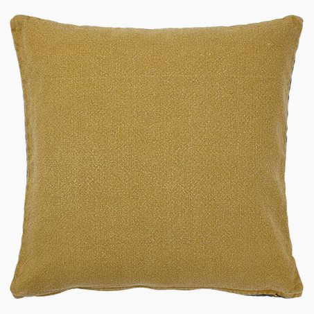 Cushion BLAKER colour mustard yellow 50 x 50 cm