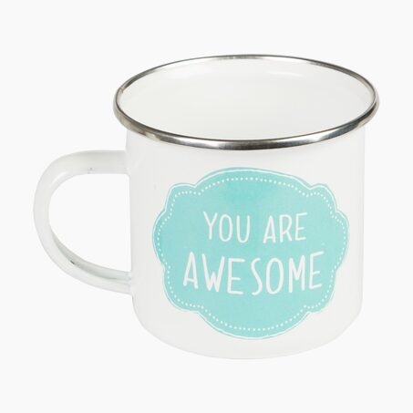 Mug YOU ARE AWESOME coloris blanc