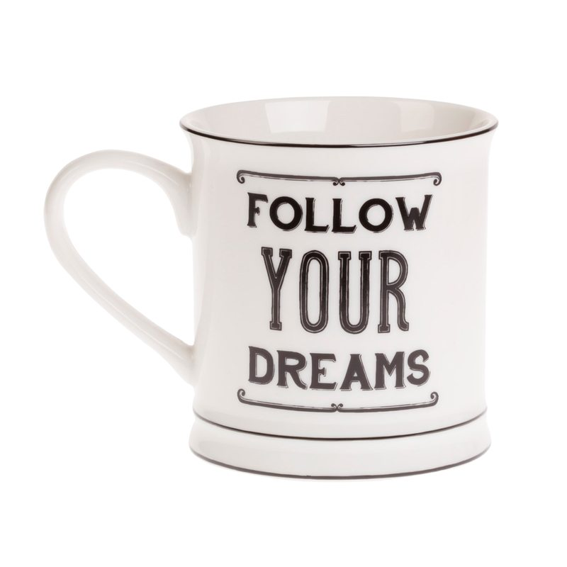 Mug FOLLOW YOUR DREAMS colour white