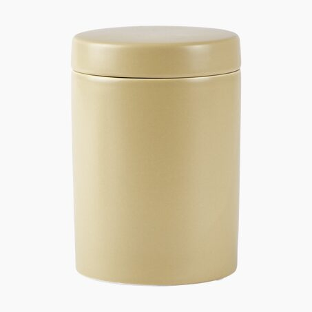 Plant pot OSSIAN colour soft yellow