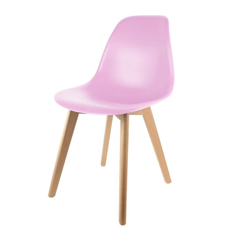 Chaise NABIA coloris rose