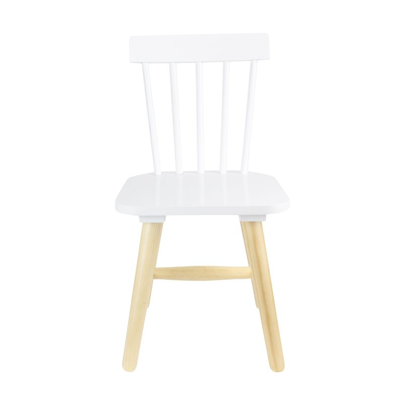 Chaise ISIKOLE coloris blanc