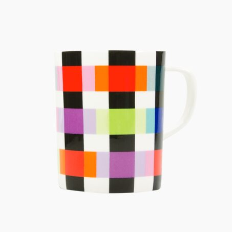 Mug COLOUR CARO colour multicoloured