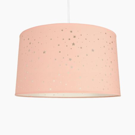 Suspension STARS coloris rose 23 x 40 cm