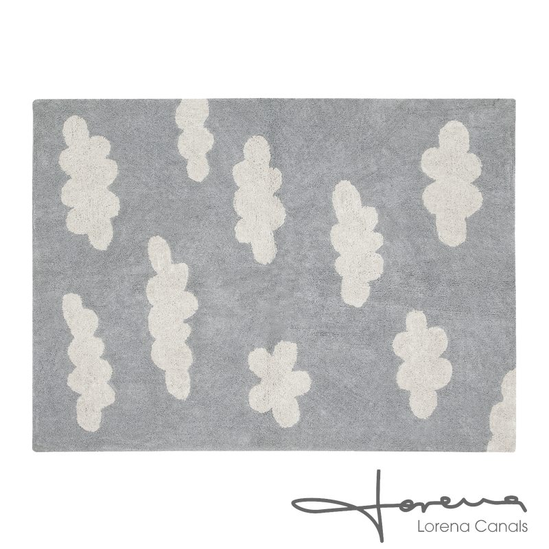 Tapis CLOUDS coloris gris