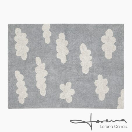 Rug CLOUDS colour grey