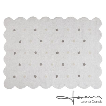 Tapis GALLETA coloris blanc