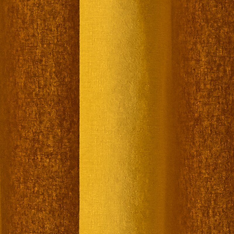 Rideau BRUSH coloris jaune 135 x 240 cm