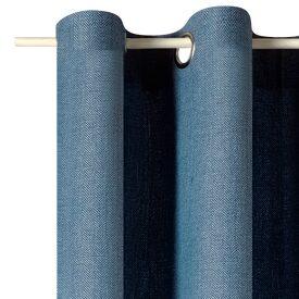 Rideau CLUB coloris bleu nuit 140 x 260 cm - Rideau - 4murs