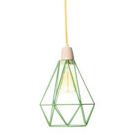 Luminaire vert